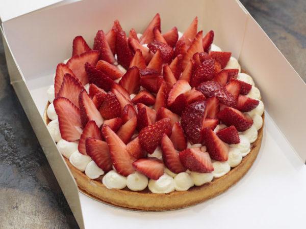 Tarte fraises - Emma Duvéré