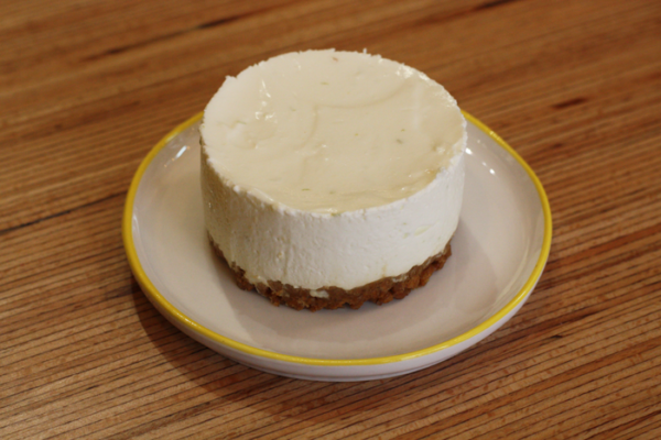 cheesecake citron vert individuel