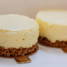 Cheesecake vanille individuel