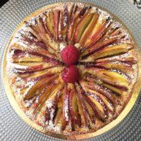 Tarte Pomme Rhubarbe - Pâtisserie Emma Duvéré