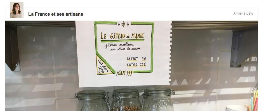 Gâteau de Mamie - RTL - Emma Duvéré